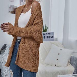 Umgee popcorn knit cardigan sweater